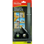 Sterling Combination Square Heavy Duty No.53 Metric Only 300mm Heavy Duty