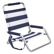 Hi Back Beach Chair Nautical
