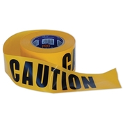 Pro Choice Caution Yellow Tape 100m x75mm Roll