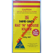 "David Grays Rat ""N"" Mouse Killer 350g"