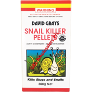 David Grays Snail Killer Pellets 500g