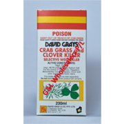 David Grays Crab Grass & Clover Killer