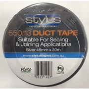 Stylus Duct Tape 48mm x 30m Silver