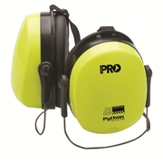 Pro Choice Python Slim Line Neck Band Hi-Vis Yellow Earmuffs