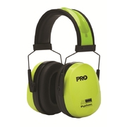 Pro Choice Python Slim Line Hi-Vis Yellow Earmuffs
