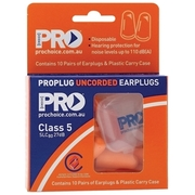 Pro Choice Earplugs Uncorded - 10pr Hand Pack