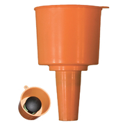 Mr Funnel Fuel Filter Orange