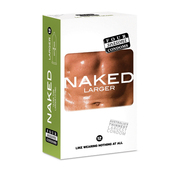 Four Seasons Naked Larger Condoms 12pk