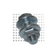 Flanged Purlin Bolts M16 x 35mm Zinc Plated 8.8 Grade
