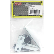Pre-Packed D-Latch & Striker Set Zinc Plated