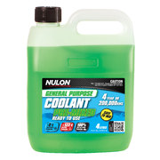 Nulon General Purpose Green Coolant 4 Litre Premixed