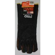 Pro Choice Black & Gold Welding Gloves 40cm Header Carded For Retail Packaging