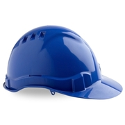 Pro Choice Hard Hat Vented 6 Point Blue