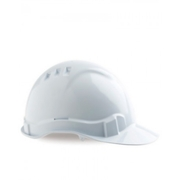Pro Choice Hard Hat Vented 6 Point White
