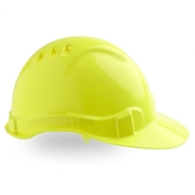 Pro Choice Hard Hat Vented 6 Point Yellow