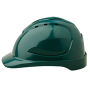 Pro Choice Hard Hat V9 Vented, 6 Point Pinlock Harness, Green