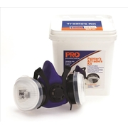 Pro Choice HMTPM + A1P2 Cartridge Tradie's & Painter's Respirator Kit