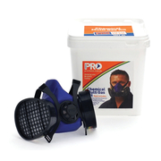 Pro Choice HMTPM + Cartridge Chemical Respirator Kit