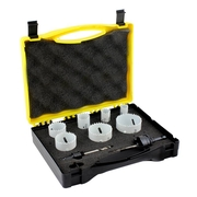 9pce Plumbers Hole Saw Kit