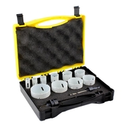 12pce Tradesman Hole Saw Kit