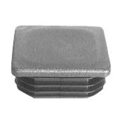 Plastic Cap 100 x 100mm Black