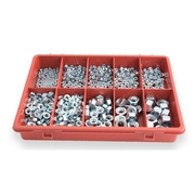 Assorted Hexagon Nuts 650pce