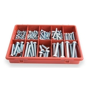 Assorted Hexagon Bolts 145pce