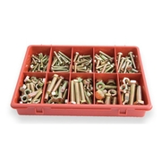 Assorted Metric Hi-Tensile Nuts and Bolts 290pce