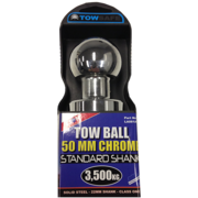 Lion Tow Ball 50mm, Shaft size 50 x 22mm shank, Max load 3500Kg