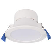 Downlight Polycarbonate Flush 10w Integrated 4000k White Dimmable