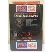Lens Cleaning Wipes Alcohol Free 100pk