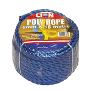 Lion Poly Rope 6mm x 15m