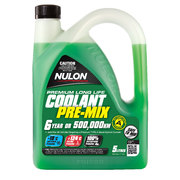 Nulon Long Life Green Top Up Coolant 5 Litre