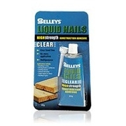 Selleys Liquid Nails High Strength Clear 80g Blister Pack