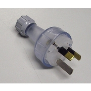 Electrical Lead Plug 3 Pin 10amp Male