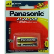Panasonic AAA 2Pk Alkaline Battery