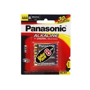 Panasonic AAA 8Pk Alkaline Battery