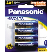 Panasonic AA 4Pk Evolta Battery