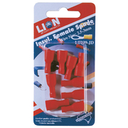 Terminal Female Blade Red 10pc