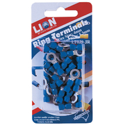 Terminals Ring Blue Stud