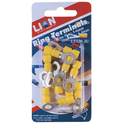 Terminals Ring Yellow Stud