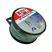 Lion Auto Cable 20amp x 4mm Green 5m