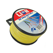 Lion Auto Cable 20amp x 4mm Yellow 5m