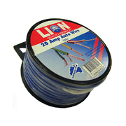 Lion Auto Cable 20amp x 4mm Blue 5m