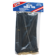 Lion Cable Ties 100pce 295 x 7.6mm Black