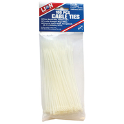 Lion Cable Ties 100pce 165 x 2.4mm White