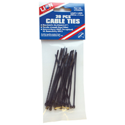 Lion Cable Ties 20pce 102mm x 2.4mm Black