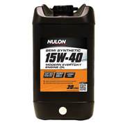Nulon Semi Synthetic 15w40 Modern Everyday Engine Oil 20L