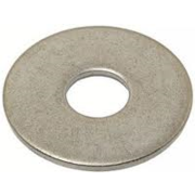 Washer Mudguard Penny Washer Zinc 3/8 x 1 1/2""