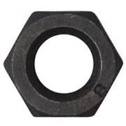 M24 CL8 Hex Nut Black